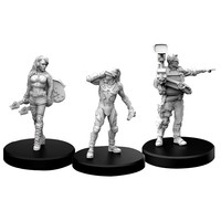 MINIS: CYBERPUNK RED: EDGERUNNERS C - ROCKER, NETRUNNER AND MEDIA