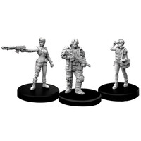 MINIS: CYBERPUNK RED: EDGERUNNERS D - SOLO, NOMAD AND MEDIA