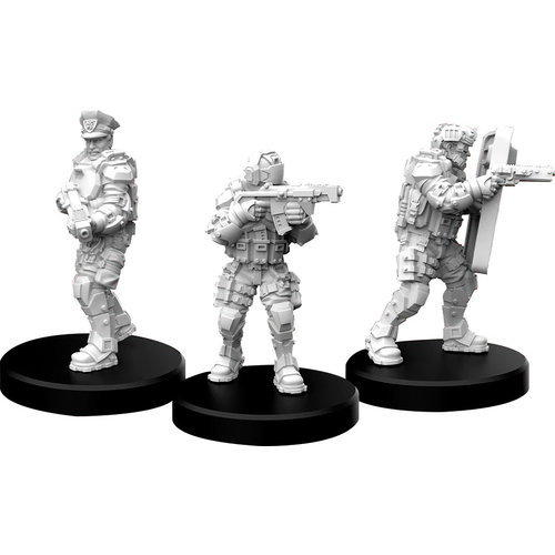 Monster Fight Club MINIS: CYBERPUNK RED: LAWMEN - COMMAND