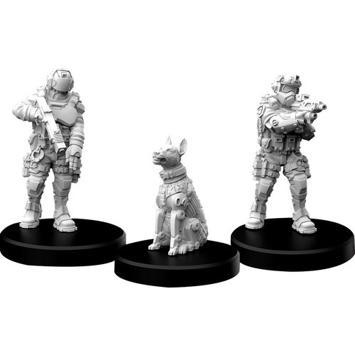 Monster Fight Club MINIS: CYBERPUNK RED: LAWMEN - ENFORCERS