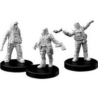 MINIS: CYBERPUNK RED: COMBAT ZONERS - PUNKS