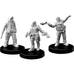 Monster Fight Club MINIS: CYBERPUNK RED: COMBAT ZONERS - PUNKS