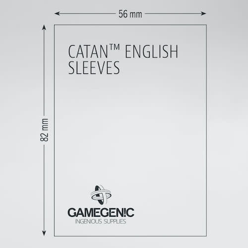 GAMEGENIC DECK PROTECTOR: MATTE - CATAN SLEEVES (60)