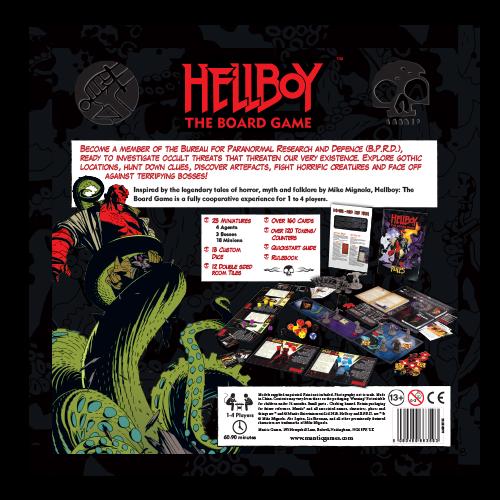 Mantic Entertainment LTD. HELLBOY: THE BOARD GAME