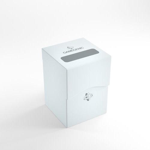 GAMEGENIC DECK BOX: 100+ WHITE