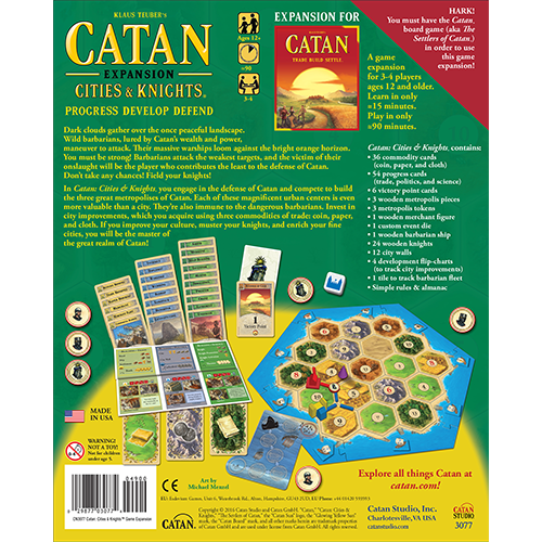 Catan Studios CATAN: CITIES & KNIGHTS