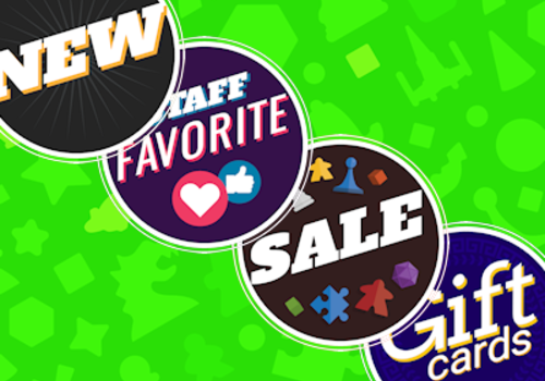 New Items, Staff Picks, Deals, & Gift Cards