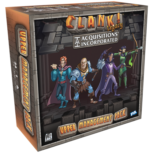 Renegade Games Studios CLANK! LEGACY ACQUISITIONS INC: UPPER MANAGEMENT PACK