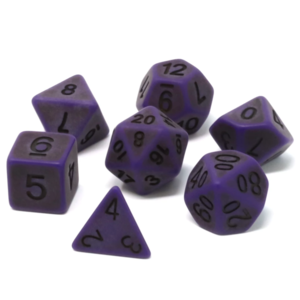 Die Hard Dice ANCIENT DICE SET 7 NETHER