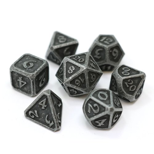 Die Hard Dice MYTHICA DICE SET 7 DARK IRON