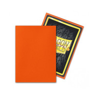 DECK PROTECTOR: DRAGON SHIELD: MATTE TANGERINE (100)