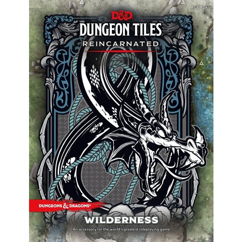Wizards of the Coast D&D 5E: DUNGEON TILES REINCARNATED - WILDERNESS