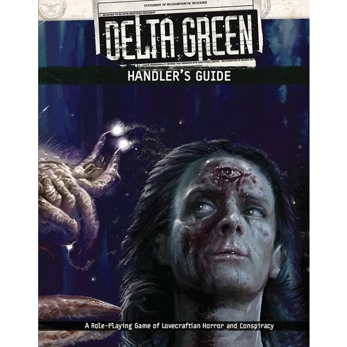 Arc Dream Publishing DELTA GREEN: HANDLERS GUIDE
