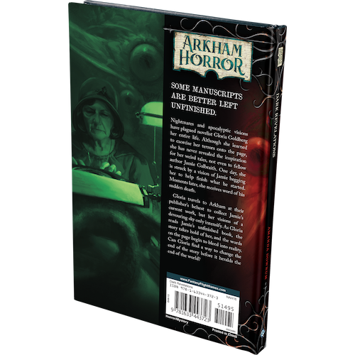 Fantasy Flight Games ARKHAM HORROR NOVELLA: DARK REVELATIONS