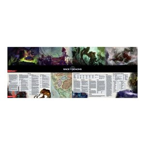 Gale Force Nine D&D 5E: OUT OF THE ABYSS: RAGE OF DEMONS - DM SCREEN
