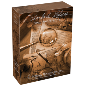 Fantasy Flight Games SHERLOCK HOLMES: CONSULTING DETECTIVE - THE THAMES MURDERS & OTHER CASES