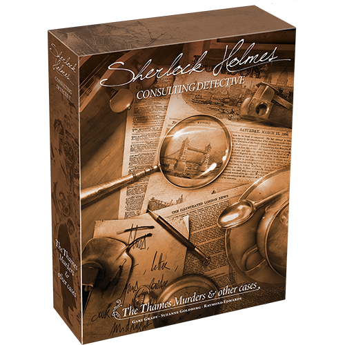 Space Cowboys SHERLOCK HOLMES: CONSULTING DETECTIVE - THE THAMES MURDERS & OTHER CASES