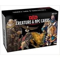 D&D 5E: CREATURES & NPC CARDS