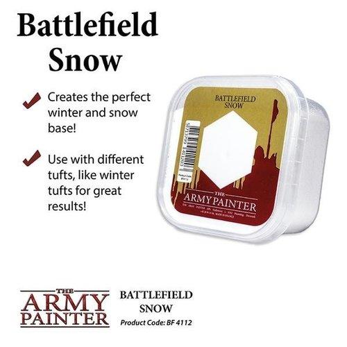 The Army Painter BATTLEFIELDS: BATTLEFIELD SNOW