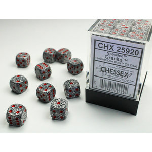 Chessex DICE SET 12mm SPECKLED GRANITE