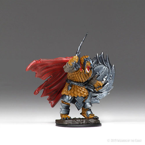 Wizkids MINIS: ICONS OF THE REALMS: DRAGONBORN MALE FIGHTER