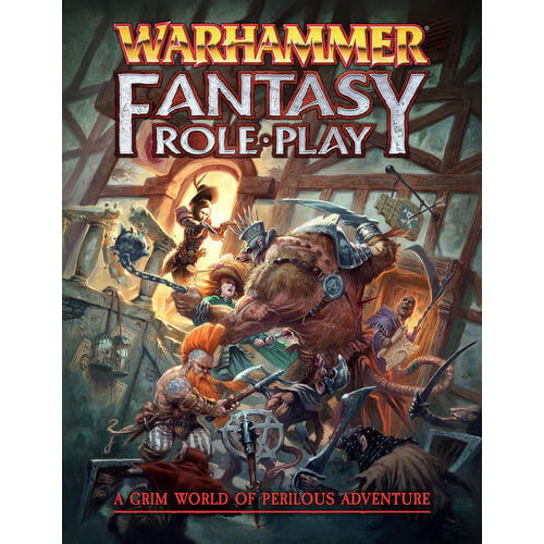 Cubicle 7 WARHAMMER FANTASY RPG: 4E RULEBOOK