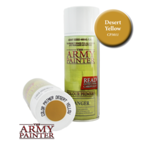 The Army Painter COLOR PRIMER: DESERT YELLOW