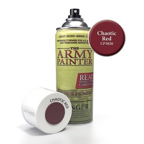 The Army Painter COLOR PRIMER: CHAOTIC RED