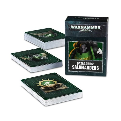 Games Workshop DATACARDS: SALAMANDERS