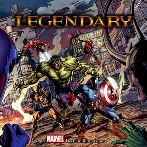 The Upper Deck Company MARVEL LEGENDARY DECK BUILDING GAME