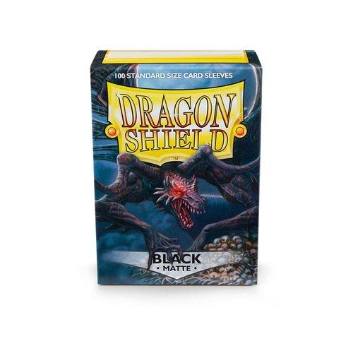 Arcane Tinmen DECK PROTECTOR: DRAGON SHIELD: MATTE BLACK (100)