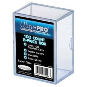 Ultra Pro International CARD BOX: PLASTIC (100)