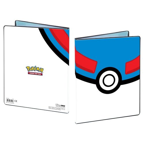 Ultra Pro International BINDER: 4 POCKET: POKEMON - GREAT BALL