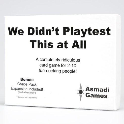 Asmadi Games WE DIDN'T PLAYTEST THIS AT ALL