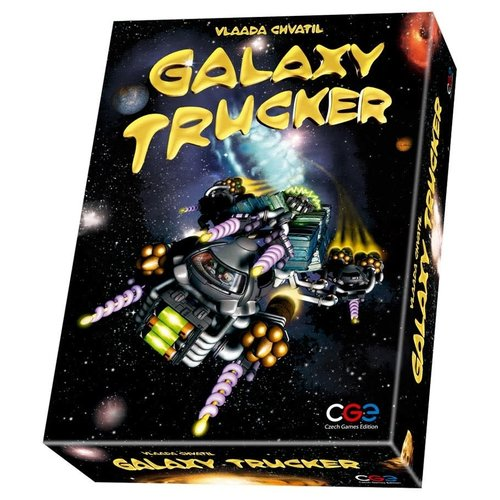 Czech Games Editions INC GALAXY TRUCKER