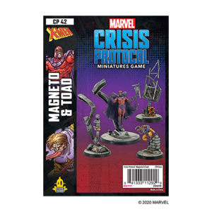 Asmodee MARVEL CRISIS PROTOCOL: MAGNETO & TOAD