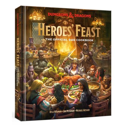 Ten Speed Press HEROES' FEAST: THE OFFICIAL D&D COOKBOOK