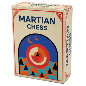 Looney Labs MARTIAN CHESS - Limited Silver Kickstarter Edition