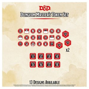 Gale Force Nine D&D 5E: CHARACTER TOKENS - DUNGEON MASTER
