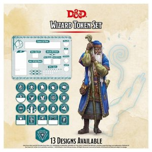 Gale Force Nine D&D 5E: CHARACTER TOKENS - WIZARD