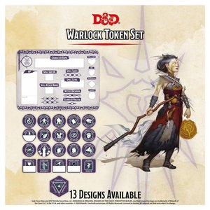 Gale Force Nine D&D 5E: CHARACTER TOKENS - WARLOCK