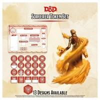 D&D 5E: CHARACTER TOKENS - SORCERER