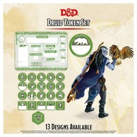D&D 5E: CHARACTER TOKENS - DRUID