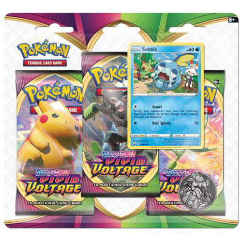 Pokemon USA POKEMON: SWORD & SHIELD 4: VIVID VOLTAGE - 3 BOOSTER BLISTER