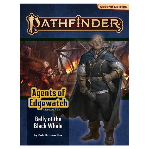 Paizo Publishing PATHFINDER 2ND EDITION: ADVENTURE PATH: AGENTS OF EDGEWATCH 5 - BELLY OF THE BLACK WHALE