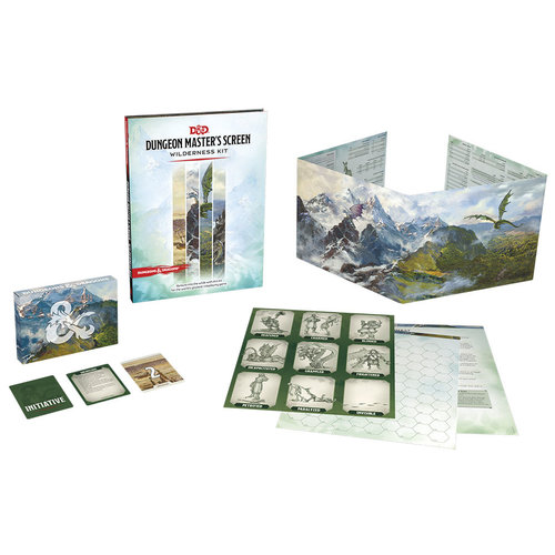 Wizards of the Coast D&D 5E: DM SCREEN - WILDERNESS KIT