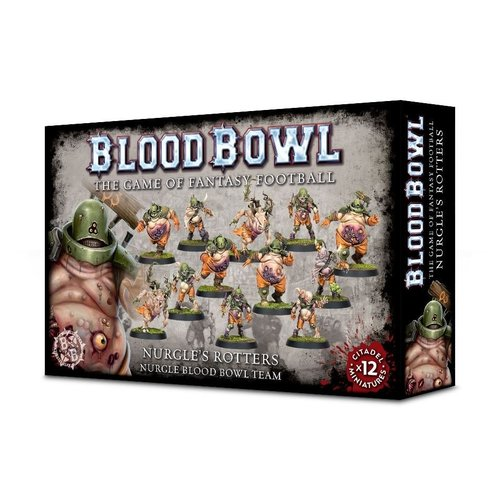 Games Workshop BLOOD BOWL: NURGLE'S ROTTERS TEAM