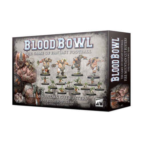 Games Workshop BLOOD BOWL: FIRE MOUNTAIN GUT BUSTERS