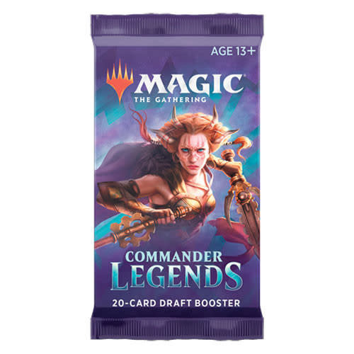 Wizards of the Coast MTG: COMMANDER LEGENDS - BOOSTER