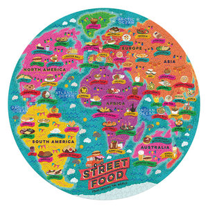 Ridley's Games RI1000 STREET FOOD LOVER'S JIGSAW PUZZLE
